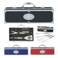 924970773-816 - BBQ Set In Aluminum Case - thumbnail