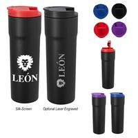 925442106-816 - 16 Oz. Segel Raven Stainless Steel Tumbler - thumbnail