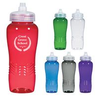 934964600-816 - 26 Oz. Wave Bottle With Sure Flow Lid - thumbnail