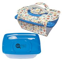 935387033-816 - Wave Lunch Container With Custom Handle Box - thumbnail