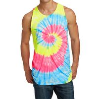 965339726-816 - Port & Company® Tie-Dye Tank Top - thumbnail