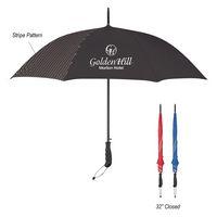 "965840968-816 - 46"" Arc Stripe Accent Panel Umbrella - thumbnail"