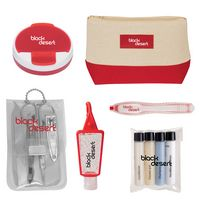 985125524-816 - Allure Cosmetic Bag Travel Kit - thumbnail