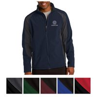 985443116-816 - Sport-Tek® Colorblock Soft Shell Jacket - thumbnail