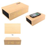 995490012-816 - BlueSequoia Alarm Clock With Qi Charging Station And Wireless Speaker - thumbnail
