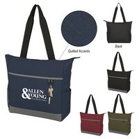 995813347-816 - Carter Quilted Tote Bag - thumbnail