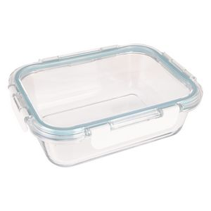 995813847-816 - Fresh Prep Square Glass Food Container - thumbnail