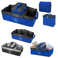 723141640-169 - Collapsible 2-In-1 Trunk Organizer/Cooler - thumbnail