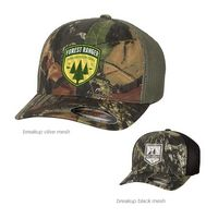 765617814-169 - Flexfit Mossy Oak Stretch Mesh Cap - thumbnail