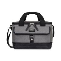156036218-112 - Igloo® Legacy Lunch Companion Cooler - Vintage Black - thumbnail
