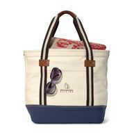 164155387-112 - Heritage Supply Catalina Cotton Tote - Natural-Navy - thumbnail