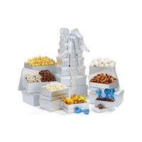 355774565-112 - Sweet & Savory Snackability Tower - Silver Diamond Pattern - thumbnail