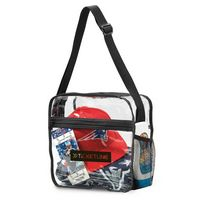 524322613-112 - Clear Event Messenger Bag Clear - thumbnail