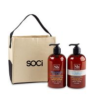 716256517-112 - Soapbox® Cleanse & Soothe Gift Set - Natural-Sea Minerals & Blue Iris - thumbnail