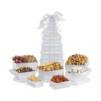 725679714-112 - Sunsational Deluxe Shimmering Sweets and Snacks Gourmet Tower Grey - thumbnail