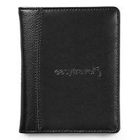 785142450-112 - Samsonite Leather Passport Wallet - Black - thumbnail