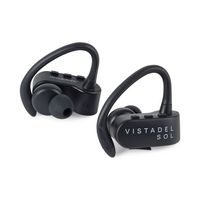 925517847-112 - Brookstone® Sport True Wireless Bluetooth® Earbuds Black - thumbnail