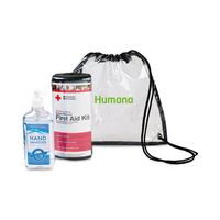 946338597-112 - American Red Cross Deluxe Personal First Aid Kit & Hand Sanitizer Bundle - Clear - thumbnail