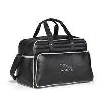 993685441-112 - Vintage Weekender Bag Silver-Black - thumbnail