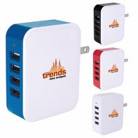 105548996-138 - Good Value® 4 Port USB Wall Adapter - thumbnail