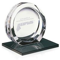 115470052-138 - Jaffa® Large High Tech Award on Black Glass Base - thumbnail
