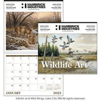 "115470859-138 - Triumph® Wildlife Art Executive Calendar (14""x23"") - thumbnail"