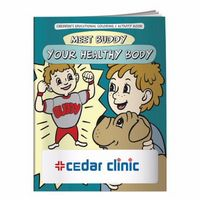 125928894-138 - BIC Graphic® Coloring Book: Meet Buddy Your Health Body - thumbnail