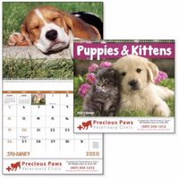 195471304-138 - Good Value® Puppies & Kittens Spiral Calendar - thumbnail
