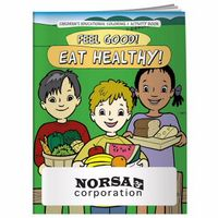 195928884-138 - BIC Graphic® Coloring Book: Feel Good! Eat Healthy! - thumbnail