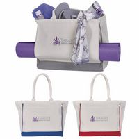 305707587-138 - Atchison® Yoga Retreat Cotton Tote Bag - thumbnail