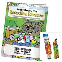 315470654-138 - BIC Graphic: Coloring Book: Meet Rocky the Recycling Raccoon - thumbnail