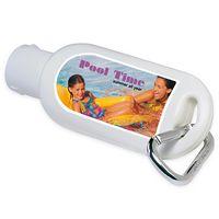 335470595-138 - 1.5 Oz. BIC Graphic® SPF 30 Sport Sunscreen w/Carabiner - thumbnail