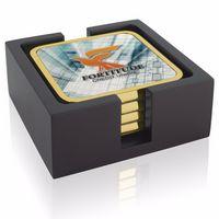 335472778-138 - Jaffa® Four Square Radiant Coasters w/Wood Tray - thumbnail