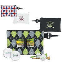 375472857-138 - Wilson® Pattern Golf Pouch Event Golf Kit w/Ultra 500 Golf Balls - thumbnail