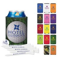 395471208-138 - KOOZIE® Collapsible Golf Tee Kit - thumbnail