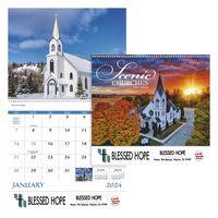 515471246-138 - Good Value® Scenic Churches Spiral Calendar - thumbnail