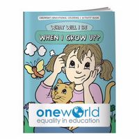515960905-138 - BIC Graphic® Coloring Book: What Will I Be When I Grow Up - thumbnail