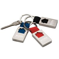 525471117-138 - BIC Graphic® House Keychain - thumbnail