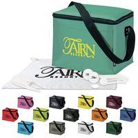 525471216-138 - KOOZIE® 6 Pack Kooler Golf Event Kit w/Wilson® Ultra 500 Golf Balls - thumbnail
