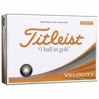 525982354-138 - Titleist® Velocity® Visi-White Golf Ball Std Serv - thumbnail