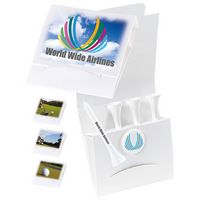 "565470409-138 - BIC Graphic® 4-1 Golf Tee Packet w/Ball Marker & 2 1/8"" Tees - thumbnail"