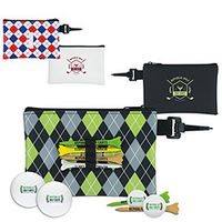 575472855-138 - Titleist® Pattern Golf Pouch Event Golf Kit w/TruFeel Golf Balls - thumbnail