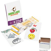 595470612-138 - GoodValue® Kid's Fun Pocket Pack First Aid Kit with Stickers - thumbnail