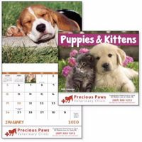 595471305-138 - Good Value® Puppies & Kittens Stapled Calendar - thumbnail