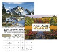 705470883-138 - Triumph® American Splendor Executive Calendar - thumbnail
