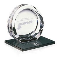 715470051-138 - Jaffa® High Tech Award on Black Glass Base - Medium - thumbnail