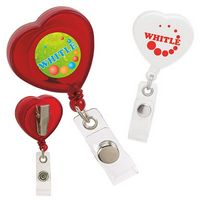 735470690-138 - Good Value® Caring Heart Retractable Badge Holder - thumbnail
