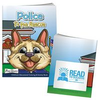 765471794-138 - BIC Graphic® Color Book w/Mask: Police to the Rescue - thumbnail