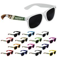 765472685-138 - Good Value® Cool Vibes Dark Lenses Sunglasses Full Color - thumbnail