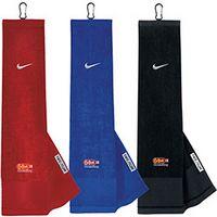 785470447-138 - Nike® Golf Tri-Fold Towel w/ Carabiner - thumbnail